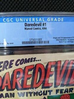 Daredevil #1 (1964) Marvel Silver Age key 1st Daredevil cgc 4.0