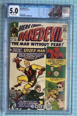 Daredevil 1 CGC 5.0