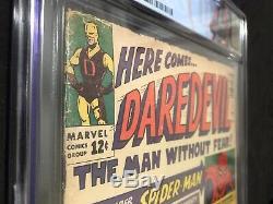 Daredevil #1 Marvel Comics 1964 CGC 3.0 Off White Pgs. 1st App Matt Murdock