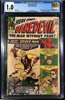 Daredevil (1964) #1 CGC graded 1.0 1st app Daredevil (1557106001)