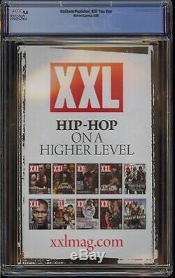 Eminem Punisher Kill You Cgc 9.8 Very Rare XXL Top Grade Slim Shady Comic Kings