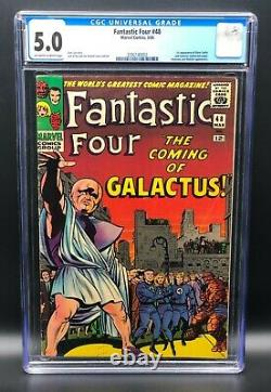 FANTASTIC FOUR #48 CGC 5.0 OWithW (1ST APPEARANCE SILVER SURFER & GALACTUS)
