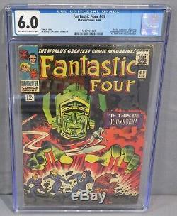 FANTASTIC FOUR #49 (Galactus 1st Full app, Silver Surfer) CGC 6.0 Marvel 1966