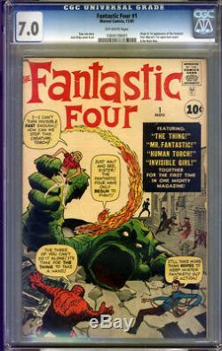 Fantastic Four #1 CGC 7.0 FN/VF Universal CGC #1004109001