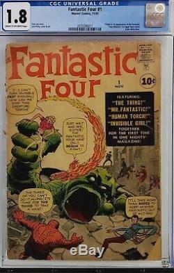 Fantastic Four #1 Cgc 1.8