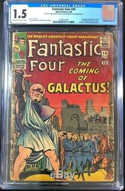 Fantastic Four 48 4 CGC 1.5 1st Appearance of Silver Surfer & Galactus