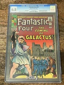 Fantastic Four #48 CGC 6.5 1st app Silver Surfer & #49 CGC 6.0 1st app Galactus