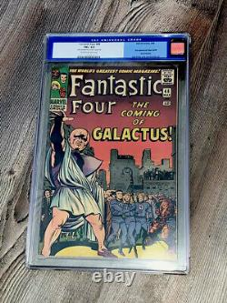 Fantastic Four 48 CGC 6.5 FN+ CR/OW Marvel 1966 1st App Silver Surfer & Galactus