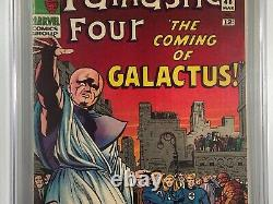 Fantastic Four #48 CGC 7.0 OW-W 1st Silver Surfer 1st Cameo Galactus 1966 Marvel