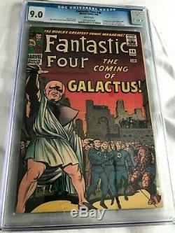 Fantastic Four #48 CGC 9.0 1st Silver Surfer & Galactus Comic Marvel not CBCS