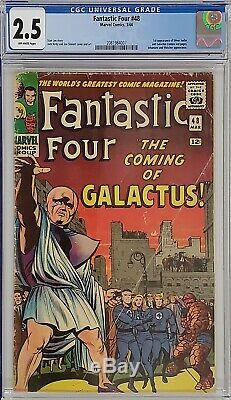 Fantastic Four #48 Cgc 2.5 1st Galactus Silver Surfer
