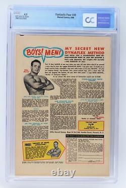 Fantastic Four #49 Marvel 1966 CGC 4.5 1st full Appearance of Galactus