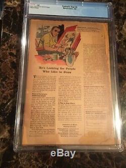 Fantastic Four #5 CGC 1.0 Origin & 1st Appearance of Dr. Doom MEGA KEY