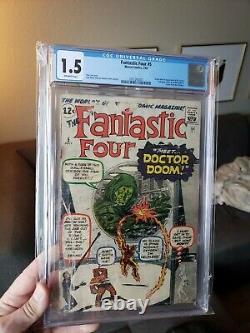 Fantastic Four #5 CGC 1st Dr. Doom