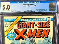 First Appearance Lot GIANT SIZE X-MEN 1 + UNCANNY 94 cgc 1st Storm New 2 3 1975