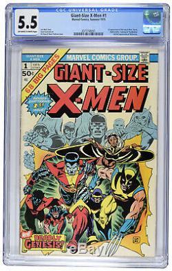 Giant Size X-Men #1 (1975) CGC 5.5 Spend Trump Stimulus Money on this! INVEST