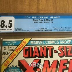 Giant Size X-Men #1 (1975) CGC 8.5 White Pages First Appearance Of New Xmen