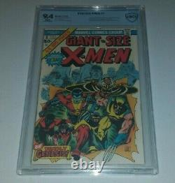 Giant Size X-Men 1 CBCS not CGC 9.4 White Pages