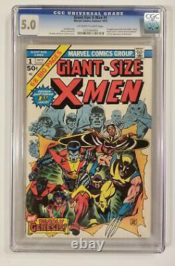 Giant Size X-Men #1 (CGC 5.0 Holy Grail! Enough Said!)