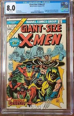 Giant Size X-Men #1 CGC 8.0 WHITE PAGES