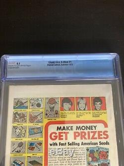 Giant Size X-Men 1 CGC 8.5 VF+ Cr To OW Pgs. 1st New X-Men Nice 3 Day Auction