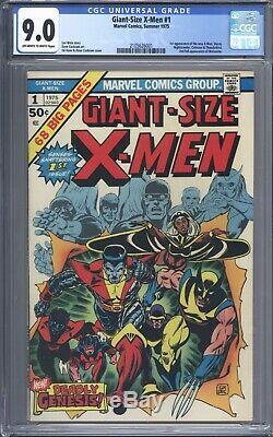 Giant Size X-Men #1 CGC 9.0 1st App of New X-Men (Storm, Colossus, Nightcrawler)