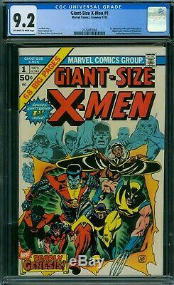 Giant-Size X-Men 1 CGC 9.2 OWithW Pages