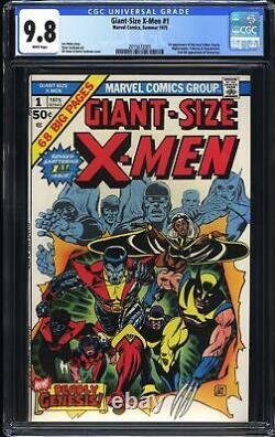 Giant Size X-Men 1 CGC 9.8