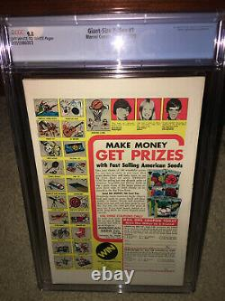 Giant-Size X-Men #1 CGC 9.8 Marvel 1975 1st New X-Men! 2nd Wolverine! K10 203 cm