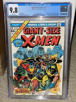 Giant-Size X-Men #1 CGC 9.8 Marvel 1975 1st New X-Men! 2nd Wolverine! WP! L10 cm