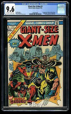 Giant-Size X-Men #1 CGC NM+ 9.6 Off White to White