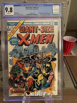 Giant Size X-Men 1 Cgc 9.8. Key! WP
