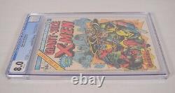 Giant Size X-Men 1 Marvel 1975 CGC 8.0 Storm Colossus Wolverine Uncanny