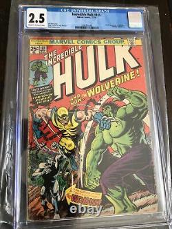Hulk 181 CGC 2.5