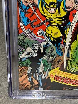 Hulk #181 CGC 8.5 1974 1st Wolverine! Key Bronze! NM+ Copy! L10 134 cm clean