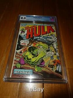 Incredible Hulk 180 cgc8.5, 181 cgc9.0, 182 cgc9.0 1st App of Wolverine Trilogy