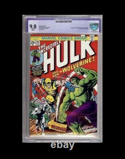 Incredible Hulk 181 CBCS 9.8 not CGC 1st Full Appearance Wolverine 1974 WP