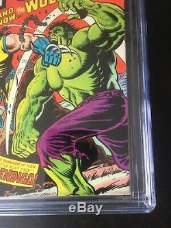 Incredible Hulk 181 CGC 8.0 WHITE PGS. 1st Wolverine 11/74 3 Day No Reserve