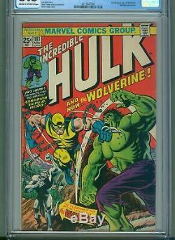 Incredible Hulk 181 (Nov 1974, Marvel) CGC 5.5 1st Appearance of Wolverine