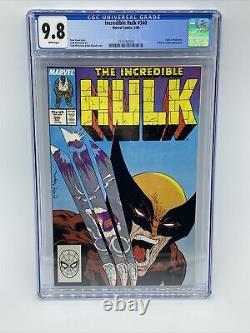 Incredible Hulk #340 CGC 9.8 1988 Marvel Comics 2/88 #2