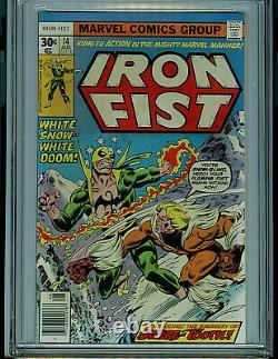 Iron Fist #14 Marvel Comics CGC 9.2 NM- 1975 First Sabretooth K22