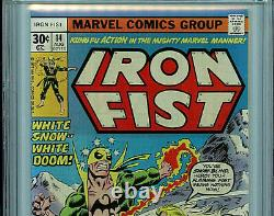 Iron Fist #14 Marvel Comics CGC 9.4 NM 1975 First Sabretooth k3 Amricons