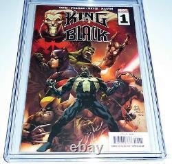 King in Black #1 CGC Universal Grade Comic Book Graded 9.8 Knull Venom Wolverine