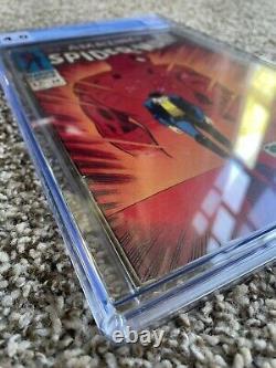 L@@k 1 Lot Silver Age Big Key Amazing Spider-man 50 Cgc 4.0 1st Kingpin Pgx Cbcs
