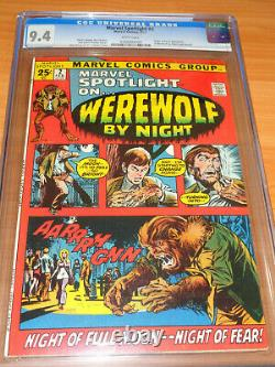 MARVEL SPOTLIGHT #2 CGC 9.4 NM (1st App. Of Werewolf by Night White Pages)