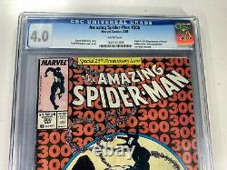 Marvel AMAZING SPIDER-MAN #300 NEWSSTAND Rare CGC 4.0 CARNAGE Movie VENOM KEY