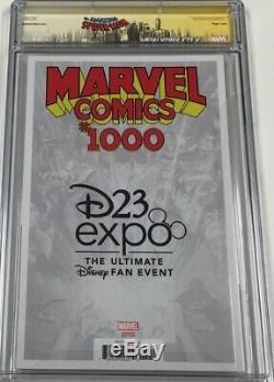Marvel Comics #1000 D23 Expo B&W Sketch Variant Signed Ramos CGC 9.8 SS Scarce