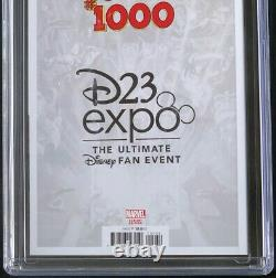 Marvel Comics #1000 D23 Expo Edition CGC 9.8 1st Mickey Mouse in Marvel