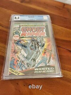 Marvel Comics CGC 8.5 Ghost Rider #1 1973 1st Son of Satan Daimon Hellstrom
