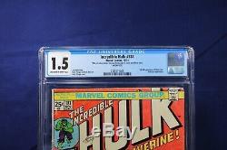 Marvel Comics Incredible Hulk 181 Cgc 1.5 Blue Label